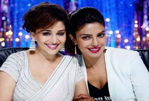 Priyanka Chopra and Madhuri Dixit both