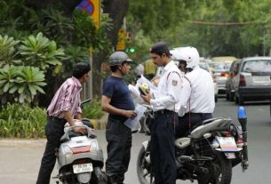 Traffic Police: know how to save such a big challan from your mobile