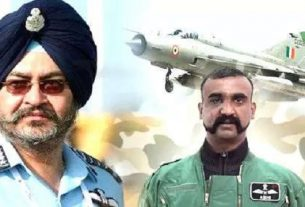 BS Dhanoa and Wing Cammander Abhinandan flew wiyh the MIG-21