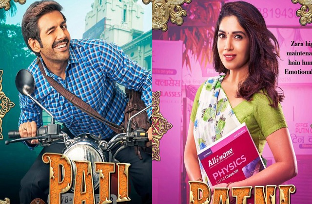 movie-the-first-poster-of-the-film-pati-patni-aur-woh-released