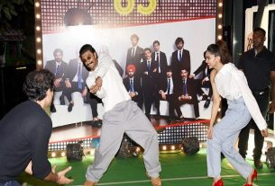 Deepika and Ranveer's dance with