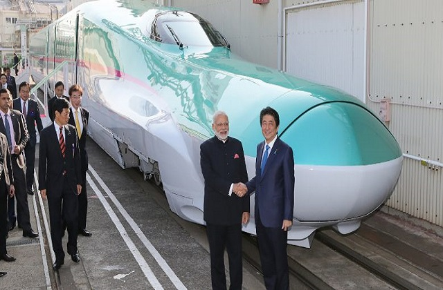 ShivSena may stop in Maharashtra, PM Modi dream bullet train