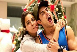 "Heena Khan and Priyank Sharma's ""Romantic Track Raanjhanaa"""