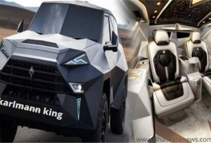 14 crore की karlmann king SUV car