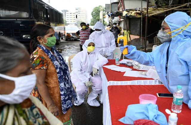 Coronavirus infected in delhi