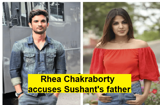 Rhea Chakraborty and sushant
