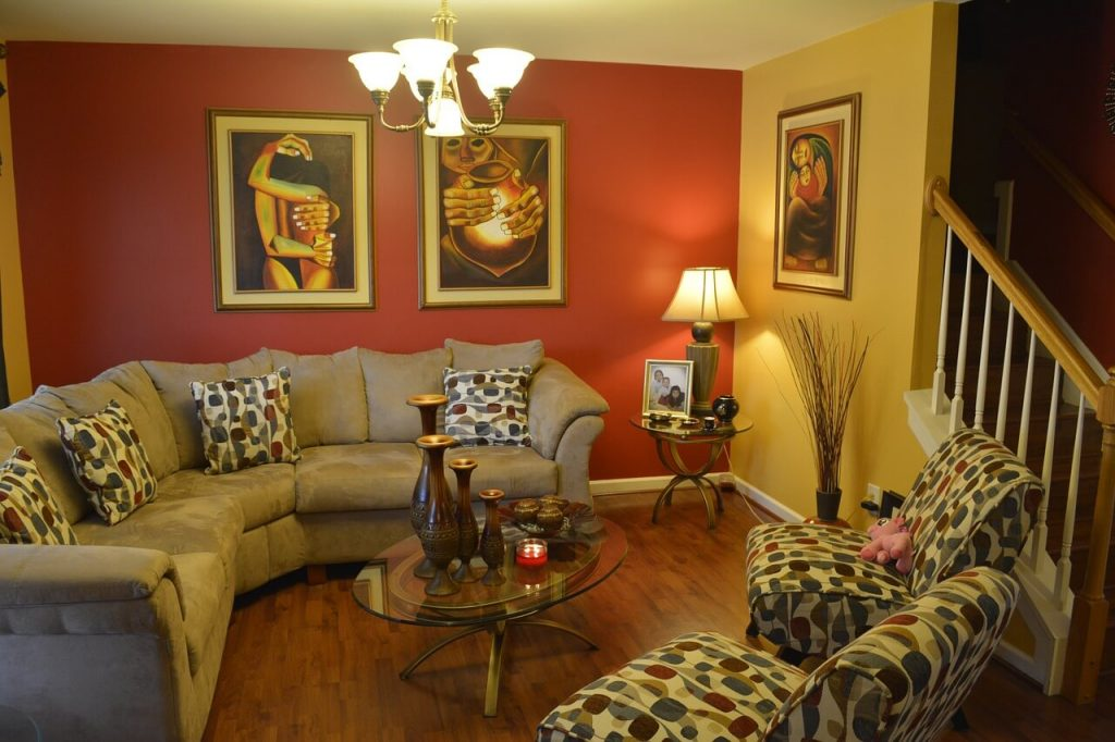 Modern traditional living rooms   tips in hindi