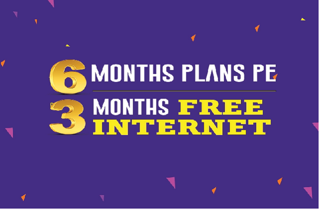 3 months free internet services